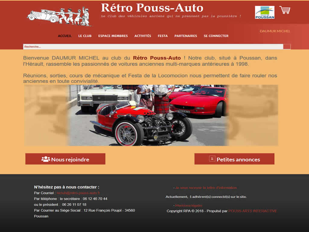 LE RETRO POUSS AUTO